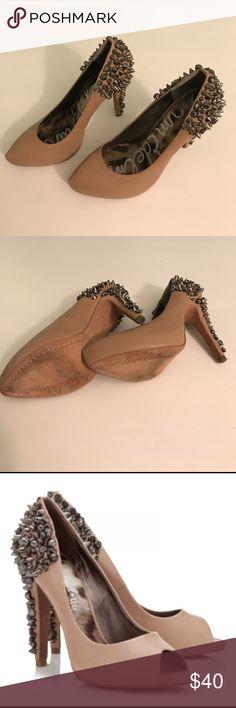 Sam Edelman Spiked Heel (6.5) Worn once, good condition. Sam Edelman Shoes Heels
