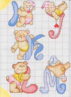Cross-stitch patterns - Borduur patronen