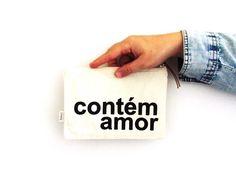 A nossa queridinha Contém Amor <3 #amor #love #necessaire #ameeproject #oamortransforma