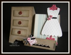 stampin up wedding card ideas   Stampin' Up! Card Technique Class Featuring Dress Up Framelits