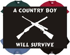 a country boy will survive