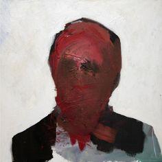 Saatchi Online Artist: Enrico Olia; Acrylic, 2010, Painting managers portrait 4°