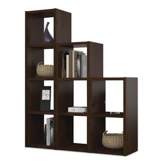 Bestar 'York' Chocolate 9-section Cubby - Overstock Shopping - Big Discounts on Bestar Office Storage & Organization
