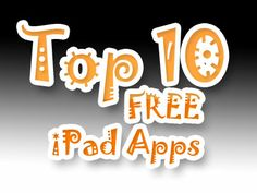Top 10 Free iPad Apps for Kids. Congrats to @Kidaptive, @Joni Bush Math  , @Kidoteca - Apps for Curious Kids - Apps for Curious Kids , @KiooiK Games Games  , @林 叶 Giant , @INKIDS for designing such awesome apps and keeping them free!