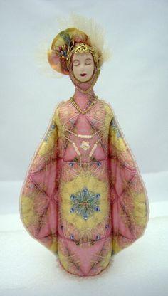 Art Doll by Barbara Vanselow