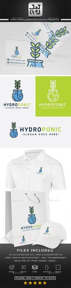 Hydroponic Logo Hydroponic Logo Get it now! Logo Design Template, Logo Templates, Document Folder, Wonder Woman Logo, Branding, Font Names, Best Logo Design, Modern Logo, Cool Logo