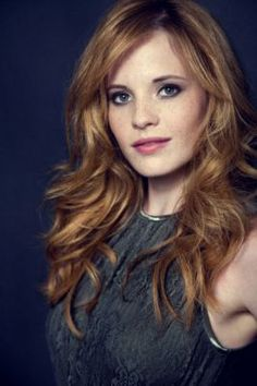 Katie Leclerc and her lovely hair!