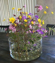 Klong äng vas summer flowers