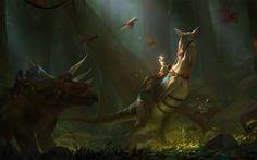 fantasy Art, Ark: Survival Evolved HD Wallpaper Desktop Background