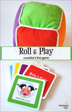 Roll & Play - the perfect fun and interactive game for toddlers!