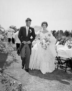 Jack & Jackie Kennedy wedding