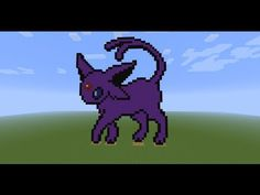 """Watch as I craft the Pokemon Espeon in Minecraft. It took about an hour and it is spead up to 500%    Music by Pillz Here """"Robots with Feelings"""" http://soundcloud.com/guitarman3190    Find me on Instagram for Star Wars pictures and more!  @iluffsasuke    Follow me on Twitter:  http://www.twitter.com/iluffsasuke/    Facebook Page:  https://www.facebook.com/..."""