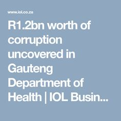 A number of public servants, along with politicians including Brian Hlongwa has been implicated in a corruptiont scandal worth Africa News, New Africa, South Africa, Crime, Articles, Business, Health, Health Care, Store