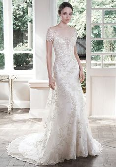 Maggie Sottero $1000-1499... available at Elegant Bride in Burlington & Carolina Bridal World in Smithfield, New York Bride & Groom in Raleigh