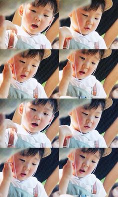 Daehan, always SO focused on his task and goes cutely hysterical when smth goes wrong. My fav