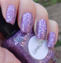 Lynnderella LavanDear over OPI Lucky Lucky Lavender