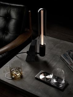 Lifestyle - Embrace winter with our STONED table light