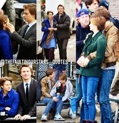 Hazel and Gus in Amsterdam IM SO EXCITED