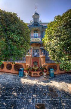 """Pirates of the Caribbean"" New Orleans Square at Disneyland. Disney Rides, Disney Fun, Disney Magic, Disney Parks, Walt Disney World, Disney Theme, Disney Stuff, Disneyland California, Disney California Adventure"