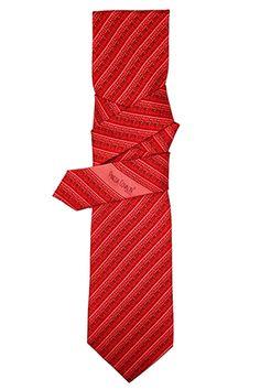 Greca Mitla Diagonal Rojo
