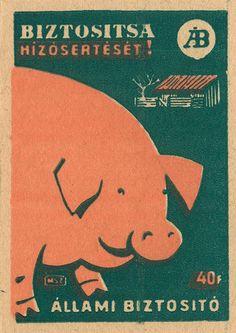 hungarian matchbox label by maraid, via Flickr