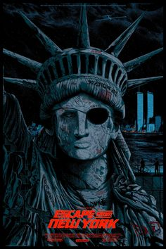 As the Fourth of July approaches, you'd be hard pressed to think of a more patriotic symbol than the Statue of Liberty. And that's why this new poster for John Carpenter's Escape from New York is so good. It takes everything we love about America and subverts it. Just like the movie itself.