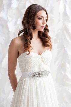 Image of Dress sash - Florrie