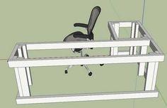 I built a desk! - Imgur