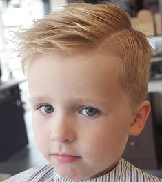 Check out your 35 ideas for cute toddler boy haircuts. You will find here complete How-to with pictures and styling tips. Each haircut. Cute Toddler Boy Haircuts, Boy Haircuts Short, Little Boy Hairstyles, Baby Boy Haircuts, Toddler Boy Hairstyles, Funky Hairstyles, Formal Hairstyles, Hairstyles Haircuts, Short Hair