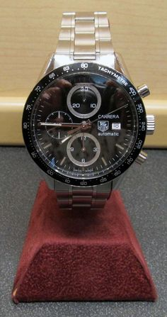 Tag Heuer Carrera Automatic Chronograph Date CV2010 Calibre 16 Stainless Steel