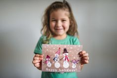 kids artwork handmade christmas card anita perminova amasterdam photographer