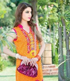 Plush Embroidered Kurtis Eid Collection by Riaz Arts EK_33