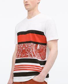 PAISLEY T - SHIRT - View all - T - shirts - MAN   ZARA Germany