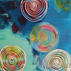 Colourful dream...5  40 cm x 40 cm