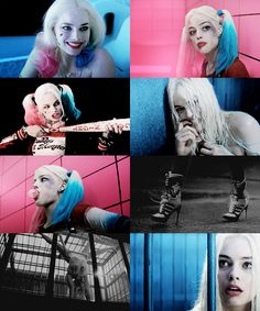 SUICIDE SQUAD's Harley Quinn scenes from the trailer & the movie (coming on cinemas at 5 August 2016)