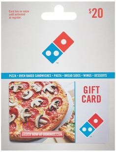 Amazon.com: Domino's Pizza Gift Card $20: Gift Cards Store