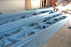 #dynamicsteelframe #lightsteelframe #steelframe #steel #truecore #lighterstraighterbetter #fabrication #fabrications #architecture #australia #prefab #williamstown Storey Homes, Rooftop Terrace, First Home, Prefab, Steel Frame, Australia, Architecture, Roof Deck, Rooftop Deck