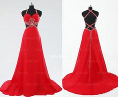 Hey, I found this really awesome Etsy listing at http://www.etsy.com/listing/165099997/backless-prom-dress-long-prom-dress-red
