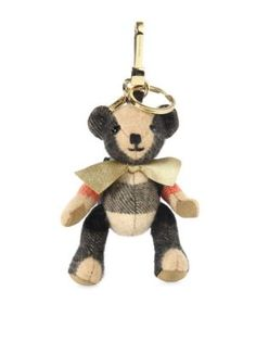 BURBERRY Goldtone Koala Bear Key Ring. #burberry #bags #cashmere #