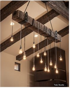I want these hanging in my high ceiling loft apartment that doesn photos 8 unusual lighting ideas mozeypictures Image collections
