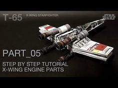 undefined X Wing, Starwars, Engineering, Miniatures, Youtube, Diy, Bricolage, Star Wars, Mechanical Engineering