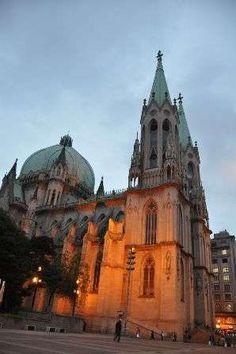 Catedral da Sé, em São Paulo.