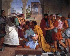 Peter von Cornelius - The Recognition of Joseph by his Brothers - 1816-17