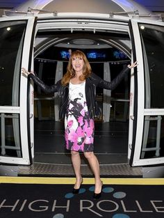 Actress Jane Seymour rode the High Roller Observation Wheel at The LINQ on the World-Famous Las Vegas Strip on Sunday, January 18, 2015 (Photo credit: Bryan Steffy / WireImage / www.BryanSteffyPhoto.com).