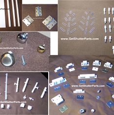 Repair & Replacement Parts for Plantation Shutters