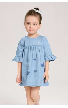 Baby clothes should be selected according to what? How to wash baby clothes? What should be considered when choosing baby clothes in shopping? Baby clothes should be selected according to … Baby Clothes Patterns, Girl Dress Patterns, Toddler Girl Style, Toddler Dress, Dresses Kids Girl, Kids Outfits, Baby Girl Fashion, Kids Fashion, Baby Frocks Designs