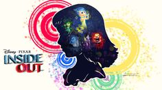 """Disney - Pixar new movie """"Inside Out"""" Promo wallpaper. Can't wait to see this movie!"""