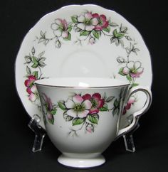 Queen Anne Tea Cup Apple Blossom at Classy Option - Vintage Queen ...