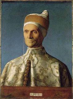 Doge Leonardo Loredan, ca. 1503 (Giovanni Bellini)     (1430-1516) National Gallery, London