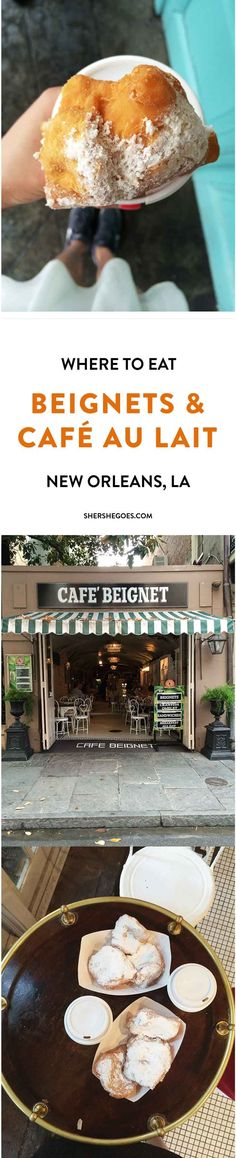 Where to find the best beignets in New Orleans!